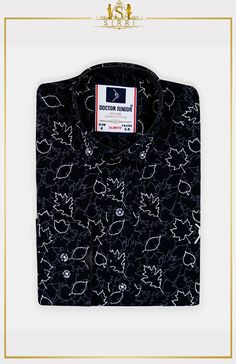 Shop Doctor Junior Boys Slim fit Leaves Print Cotton Black Shirt at SIRRI. Exclusive to Sirri, our dazzling Leaves print shirt comes with button detail on sleeve so you can roll them up with no fuss. Printed Cotton, Printed Shirts, Suits For Sale, Illusion Dress, Boys Suits, 3 Piece Suits, Gorgeous Wedding Dress, Leaf Prints, Kind Mode