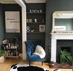 paint the shelves and the wall all the same color