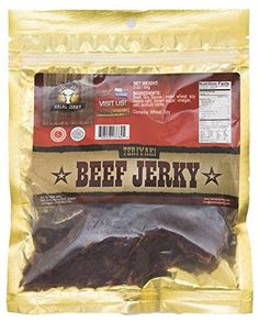 Halal Jerky  Teriyaki Flavor 4pack 3 Oz Bag *** Want to know more, click on the image.