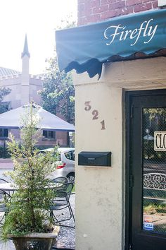 Sunday brunch here was a huge part of my early twenties. Firefly Cafe, Savannah GA  by nancynishihira, via Flickr