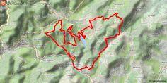 [Ardèche] Saint-Marcel-lès-Annonay Départ de Saint-Marcel-lès-Annonay en direction du massif du Pilat.  Après une montée technique avec portage, arrivée au premier col , descente sur Saint-Julien-Molin-Molette et portion sur la rive du lac du barrage du Ternay. Éteize, Brossain, le Fayet, et belle descente pour rentrer sur Saint-Marcel.