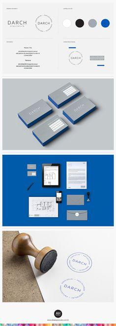 AHdesign Studio, Identidade Visual para a Darch #desenhodemarca, #idvisual, #branding, #corporatedesign, #logodesign, #logomarca, #stationarydesign, #businesscard, #darch, #graphicdesign, #ahdesignstudio