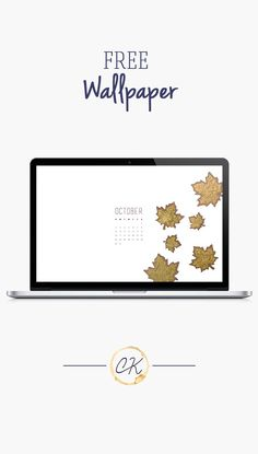 October gold leaf calendar 2016 wallpaper you can download for free on the blog! For any device; mobile, desktop, iphone, android!