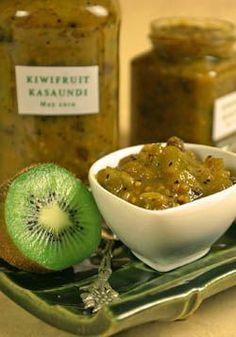 Kiwifruit Kasaundi recipe