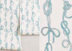 Love Knots Wallpaper from Anthropologie