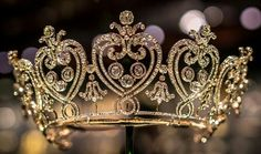 The Manchester Tiara was made by Cartier, Paris, in 1903 to the order of Consuelo, Dowager Duchess of Manchester. Cartier's records note that she supplied over a thousand brilliant-cut diamonds and more than 400 rose-cut diamonds, while Cartier supplied further rose-cut diamonds and the paste stones which make up the scrolls at the end of each side. Photo taken by Kalin Kalpachev.