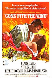 Basada en el libro de Margaret Mitchell, una de las historias de amor más clásicas de la historia del cine.