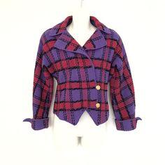 Vintage Adolfo new york neiman marcus wool blazer jacket    eBay