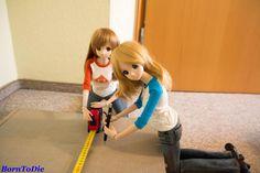 Smart Doll Mirai Suenaga and Kizuna Yumeno by borntodie_87