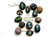Story Stones and Painted Rocks.