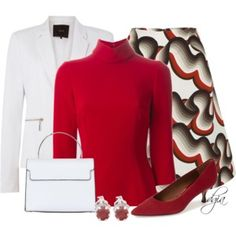 Dolce & Gabbana high neck blouse