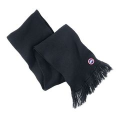 Women's Canada Goose Knit Merino Wool Tassel Scarf (8.085 RUB) ❤ liked on Polyvore featuring accessories, scarves, ink blue, merino wool shawl, knit scarves, merino shawl, merino wool scarves and fringe scarves
