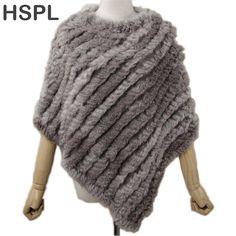 2017 Autumn Real Rabbit Women Pullover Lady Pashmina Wrap poncho  #Gifts #theoldjunktrunk #vintage #fashion