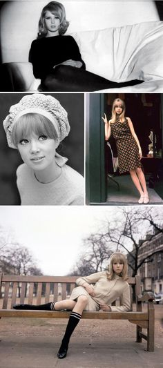 Pattie Boyd, perfect overly done eyes!