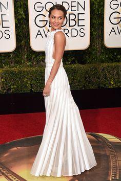 Golden Globes 2016 red carpet pictures | Best Golden Globes dresses | Harper's Bazaar