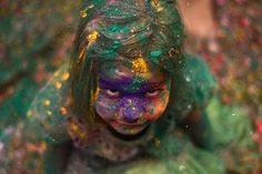 Thousands of widows mark the Hindu spring festival of colours at a temple for the first time. In many parts of India widows are not allowed to celebrate Holi or participate in other festivals