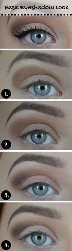 15 Beautiful makeup looks for blue eyes - make-up - # eyes . - augenmakeup - Augen Make Up Dupe Makeup, Eye Makeup Tips, Makeup Hacks, Makeup Brushes, Beauty Makeup, Hair Makeup, Makeup Ideas, Makeup Geek, Makeup Tutorials