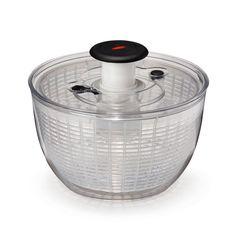 Essoreuse à salade transparente Transparente - Oxo - Les passoires et essoreuses - Pour la préparation - Cuisine - Décoration d'intérieur - Alinéa