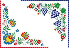 Folk Embroidery, Embroidery Patterns, Banner Printing, Pattern Art, Flower Designs, Vector Art, Illustration, Art Projects, Diy And Crafts
