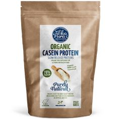 Organic Casein Protein / Protein / From happy grass fed cows / Organic certified / No artificial additives / No GMO's / No aded sugar / No preservatives Organic Whey Protein, Casein Protein, Stevia, Gras, Nutrition, Pure Products, Healthy, Link, Whey Protein