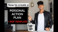 Personal Action Plan Template (free PDF download)