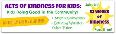 Acts of Kindness for Kids: Doing Good in the Community!