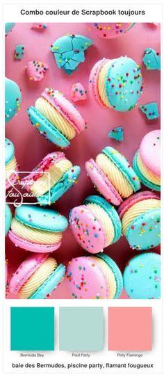 #19 Combo COULEUR de Scrapbook toujours Stampin Up, Scrapbook, Cake, Desserts, Food, Color, Tailgate Desserts, Deserts, Kuchen