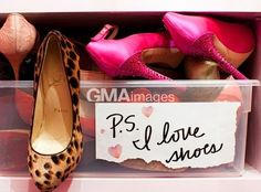 I do love shoes! Shoes always fit no matter size you are :)