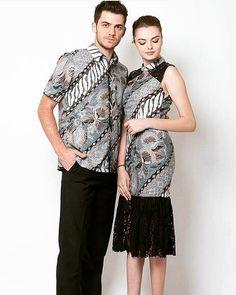 Dress Brukat, Kebaya Dress, Dress Pesta, Model Dress Batik, Modern Batik Dress, Batik Couple, Fashion Models, Fashion Outfits, Trendy Fashion