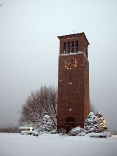 Chautauqua Institution - Miller Bell Tower - photo by elj4176, via Flickr