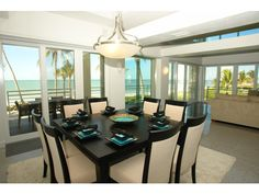 Square Dining Table - Barefoot Beach - Naples