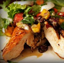 Patti LaBelle's recipes - Grilled Chicken with Mango Salsa Patti Labelle Recipes, Cookout Menu, Cooking Recipes, Healthy Recipes, Diabetic Friendly, Diabetic Meals, Diabetes Recipes, Diabetes Diet, Great Recipes