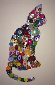 Diy Crafts - button,diygift-There are so many button crafts for kids result in charming, handmade and gift-worthy items! Learn how to make button art Cat Crafts, Crafts To Make, Crafts For Kids, Arts And Crafts, July Crafts, Summer Crafts, Vintage Jewelry Crafts, Old Jewelry, Jewelry Art