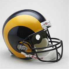Victory Collectibles 30546 Rfr Tb Los Angeles Rams Tb 1981 - 99 Full Size  Replica Helmet 3dd54186a