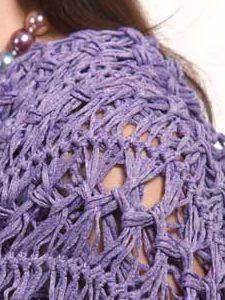 Today on Make It Crochet | Your Daily Dose of Crochet Beauty | Free Crochet Pattern: Dagmar Shawl