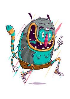Freak Monster on Behance