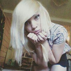 My blond hair *^*