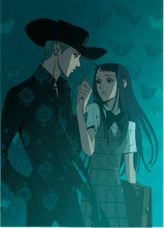 George & Yukari from Paradise Kiss. Loved this anime