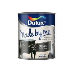 Dulux Made by Me Gloss 250ml / 750ml Classic Black