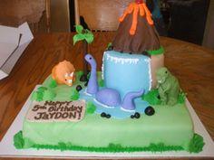 Dinosaur Party Ideas Pinterest | Pin Dinosaur Party Ideas Birthday Theme Cake on Pinterest