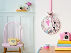 candy colors #pastels #candycolors #decor #office
