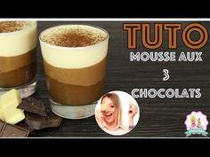 ♡• RECETTE MOUSSE AUX 3 CHOCOLATS | FACILE ET RAPIDE •♡ - YouTube