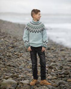 "2035-2 ""Kathrine""-genser barn Baby Alpaca, Norway, Vikings, Men Sweater, Hipster, Sweaters, Style, Fashion, Threading"