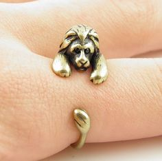 Lion Ring - I NEED this!