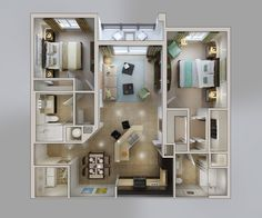 Apartments Floor Plans | Bridges at Kendall Place