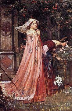 John William Waterhouse, The Enchanted Garden, c. 1916