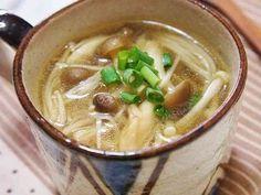 *ヘルシー* きのこの生姜スープの画像