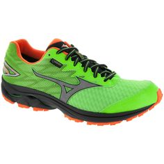 493a7d0546 ... Running Shoe (Men's). See more. Buy Mizuno Wave Rider 20 G-TX Men's  Green Gecko/Clownfish/Silver in