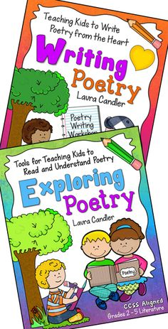 Poetry Combo from Laura Candler - Includes Exploring Poetry: Tools for Teaching Kids to Read and Understand Poetry and Writing Poetry: Teaching Kids to Write from the Heart $