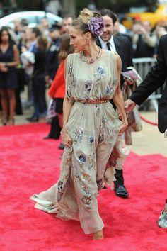 Sara Jessica Parker in Valentino Haute Couture 12/13